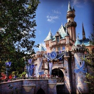 Disneyland castle by RHurley